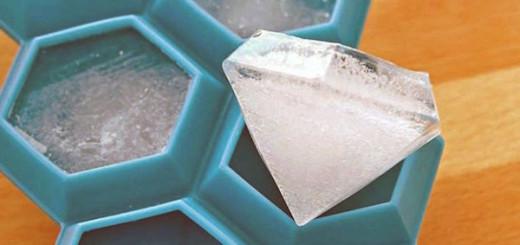 Diamentowe kostki lodu