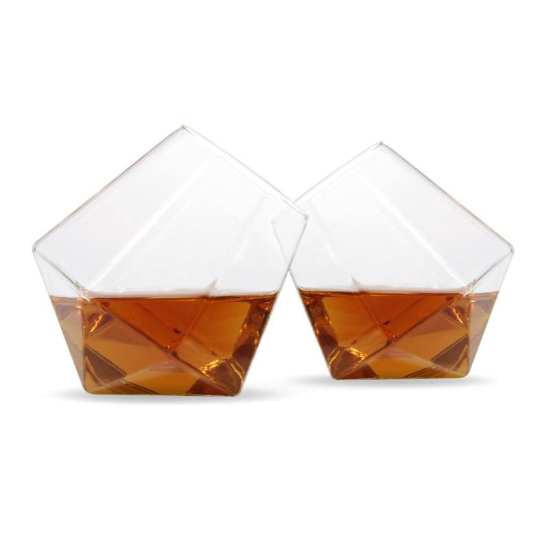 Diamentowe Szklanki do whisky Thumbs Up