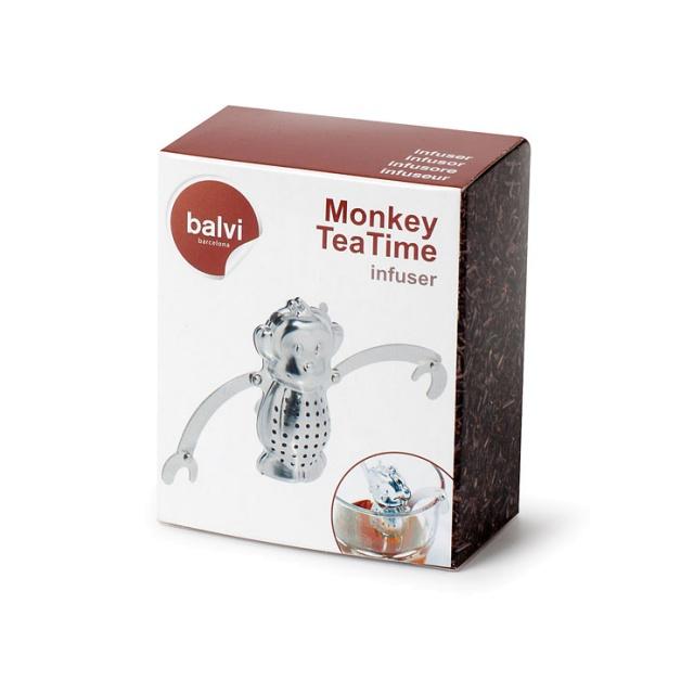 Zaparzacz do herbaty małpka - Balvi