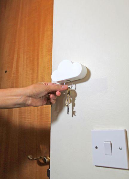 Wieszak na klucze - magnetyczna chmurka