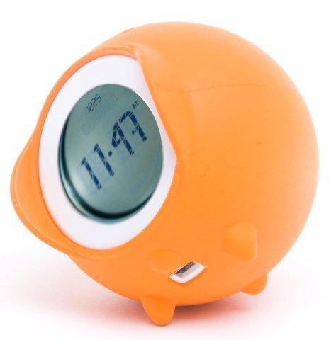 Budzik Tocky w kolorze pomarańczowym