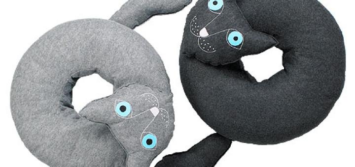 Poduszka w kształcie kota Lilyshop