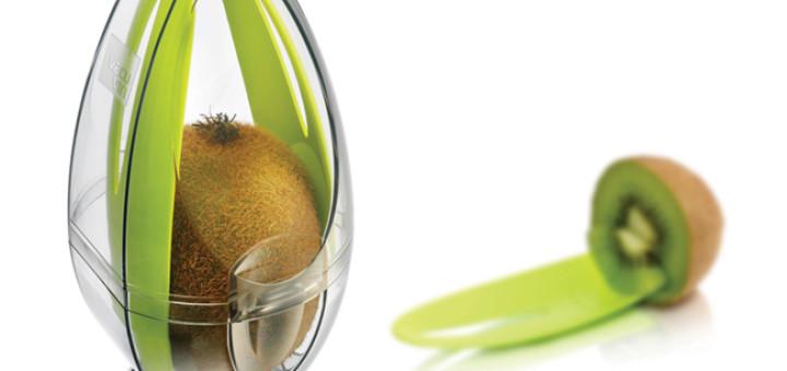 Kiwi Guard - pojemnik na kiwi od Vacu Vin