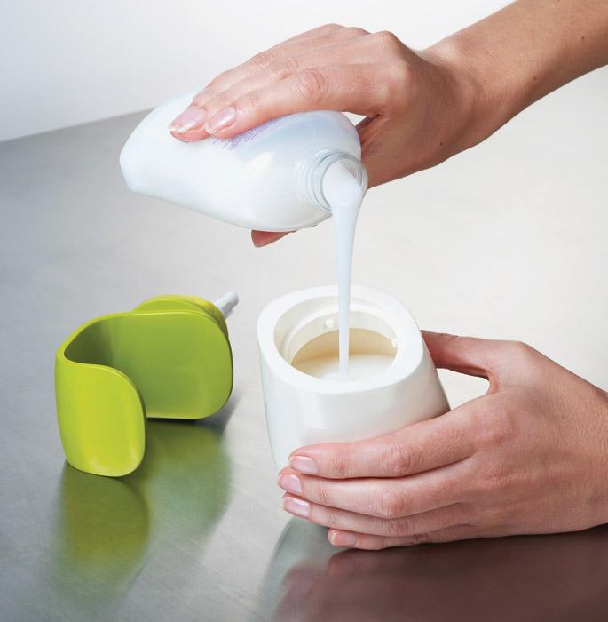 Dozownik na mydło w płynie C-Pump by Joseph Joseph