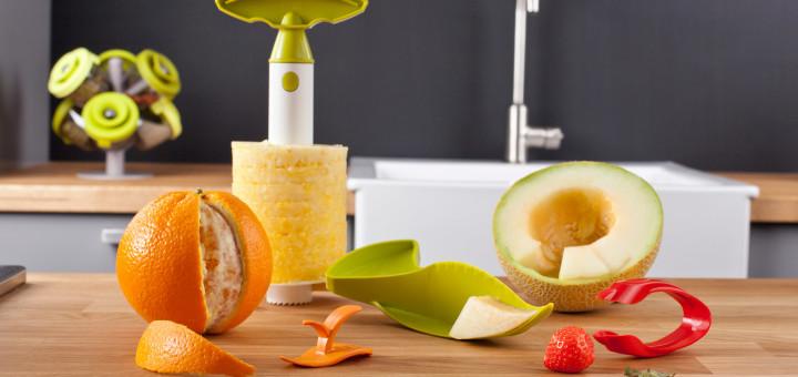 Akcesoria kuchenne do owoców - zestaw Fruit Set od Vacu Vin