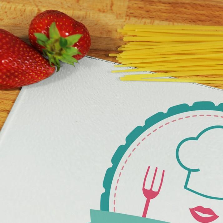 Personalizowana deska do krojenia - najlepsza kucharka