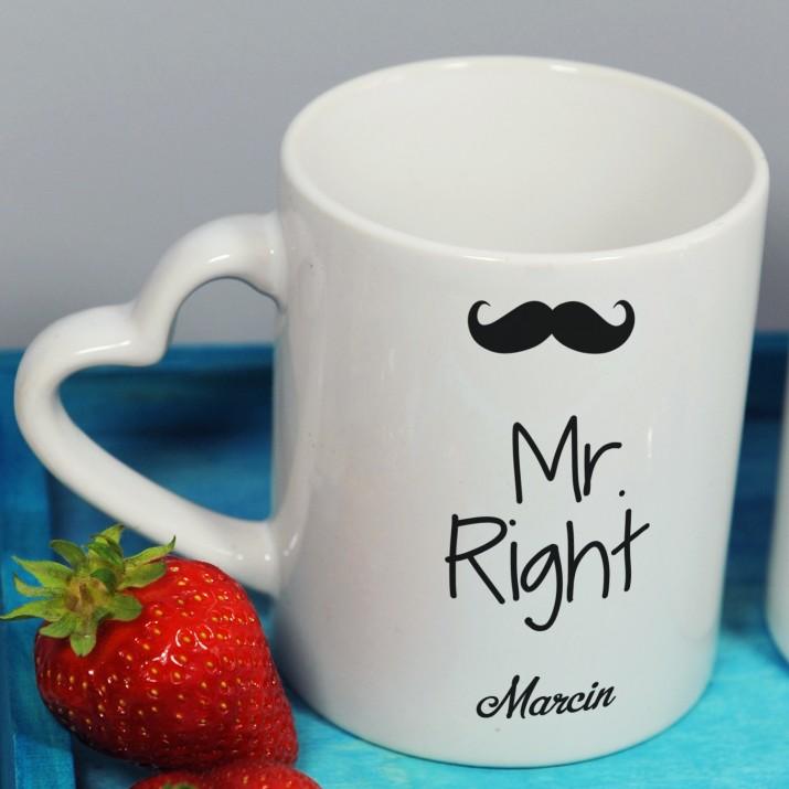 Kubki dla pary Mr & Mrs Always Right