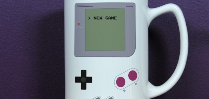 Kubek Game Boy - 3 rodzaje