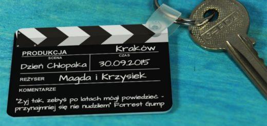 Klatka filmowa - brelok do kluczy