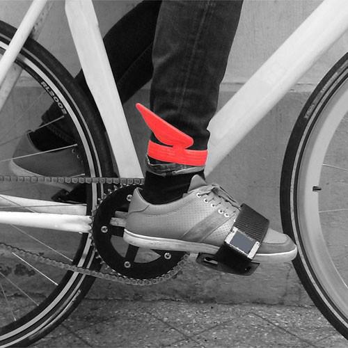 Paski na nogawki dla rowerzysty - Eno Studio
