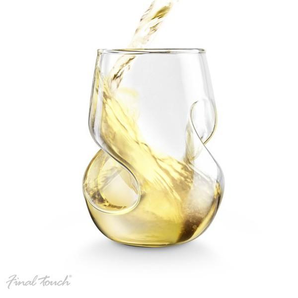 Napowietrzające kieliszki do białego wina Conundrum Glass