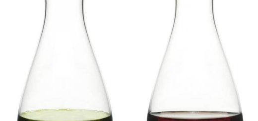 Buteleczki na oliwę i ocet Sagaform Oval Oak