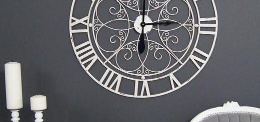 Rustykalny zegar ścienny Louis Leniel